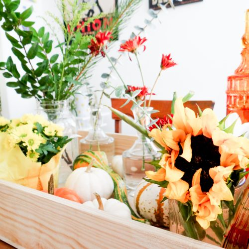 {Always Creating™ Blog // DIY Fall Table Centerpiece}