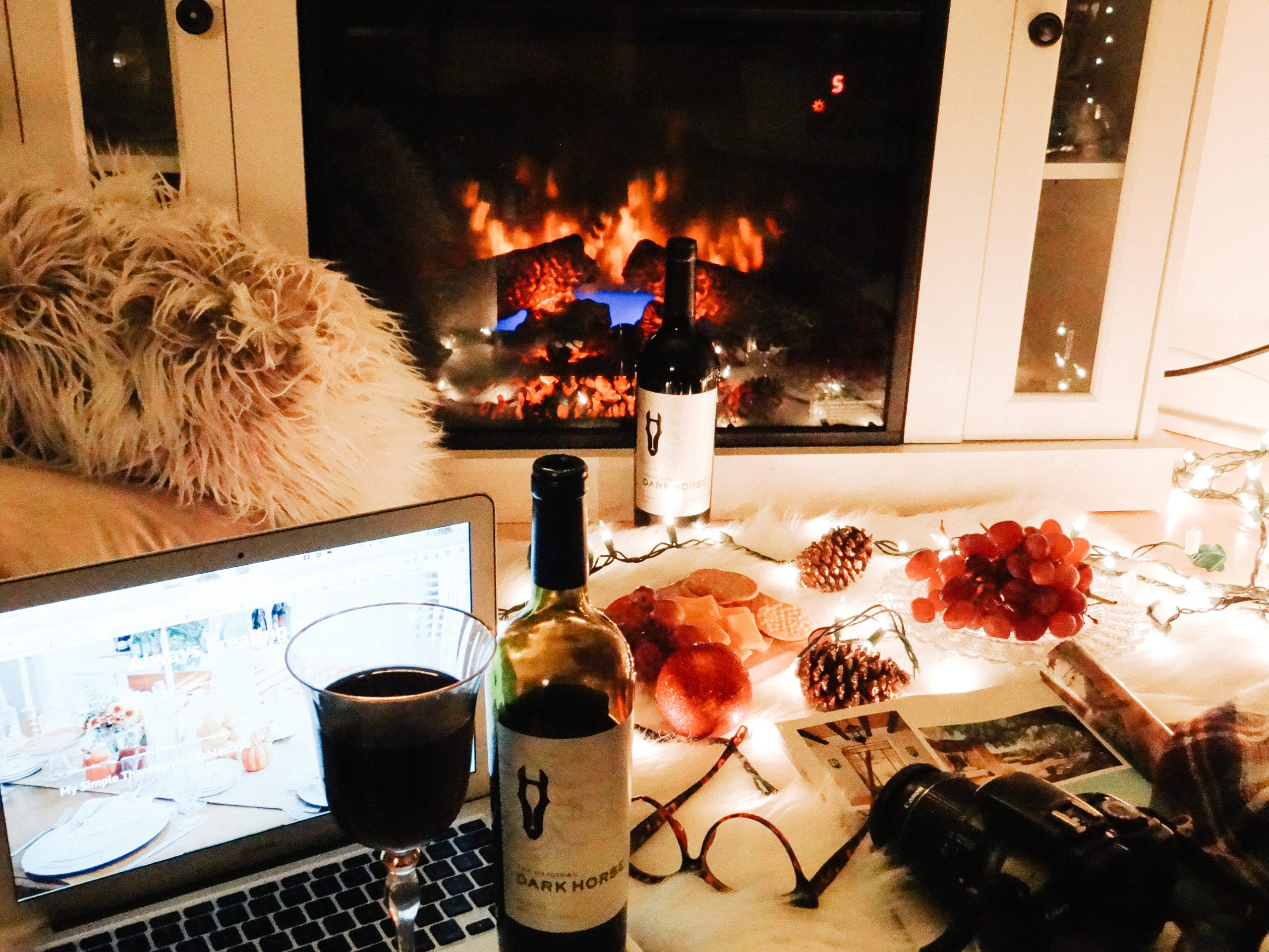 {Always Creating Blog // Dark Horse Wine x Always Creating Blog}