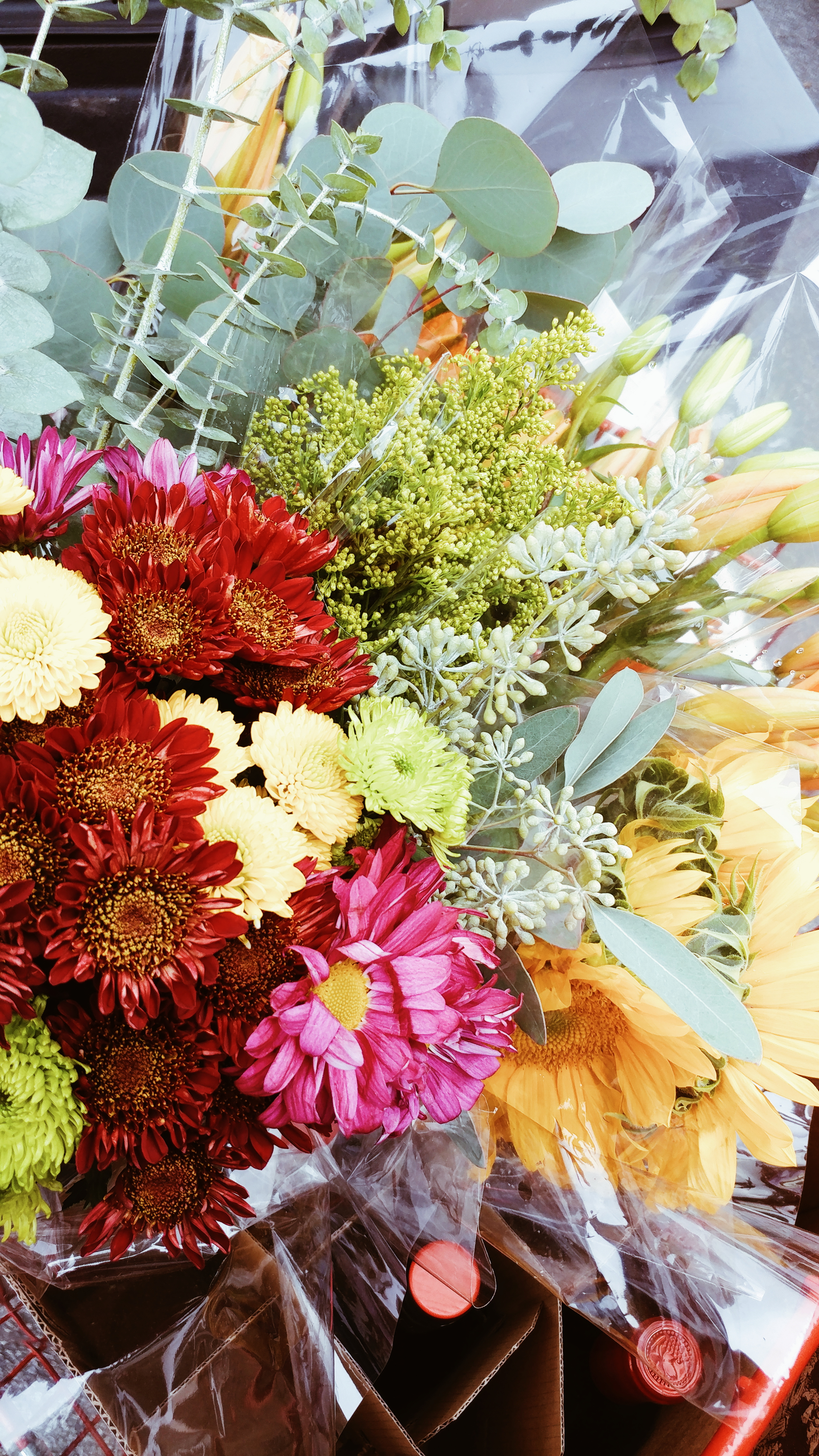 {Always Creating Blog // Under The Floral Spell // Fall Blooms}