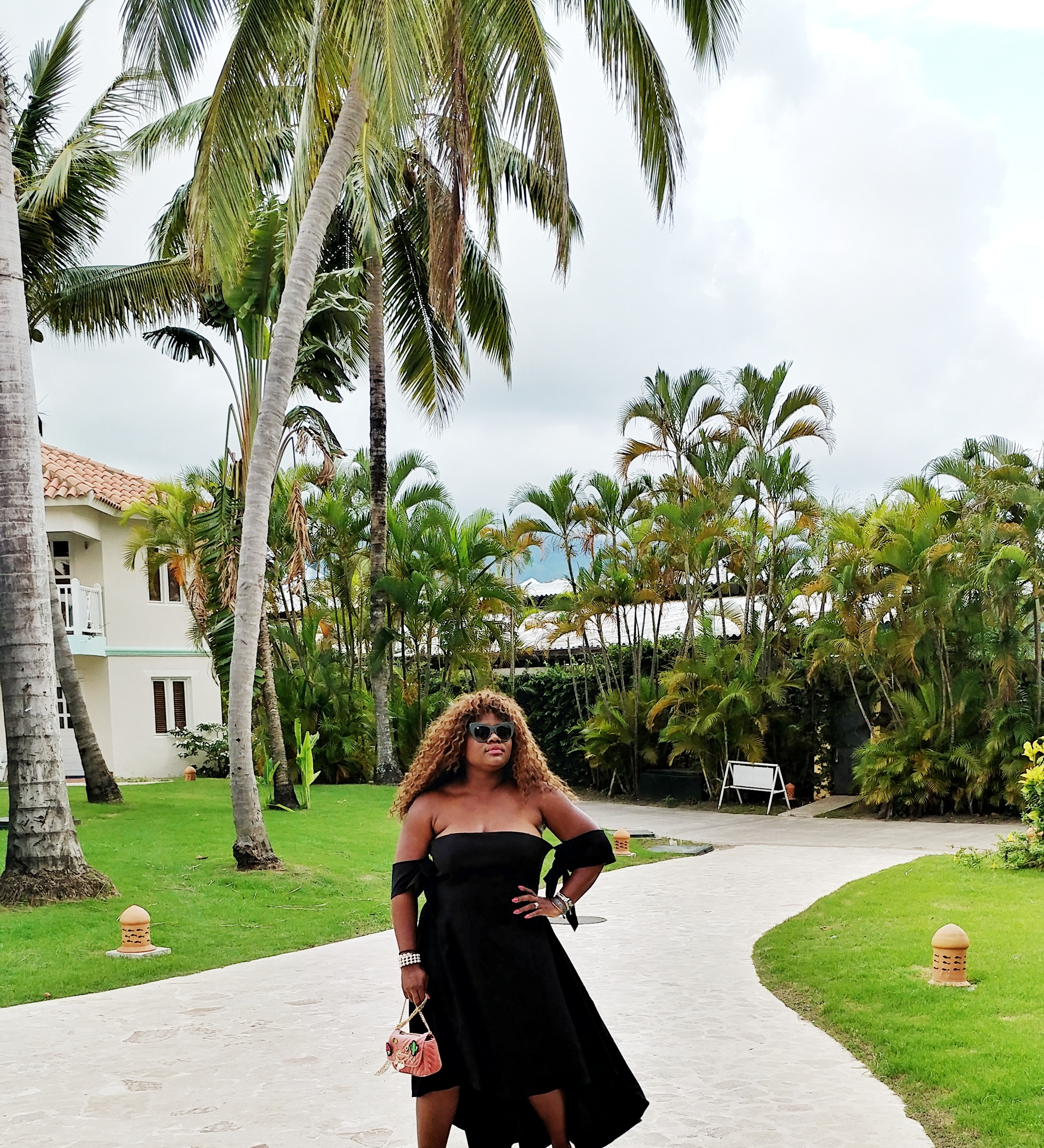 {Always Creating Blog // High-Low Tie Sleeve Gown In Paradise}