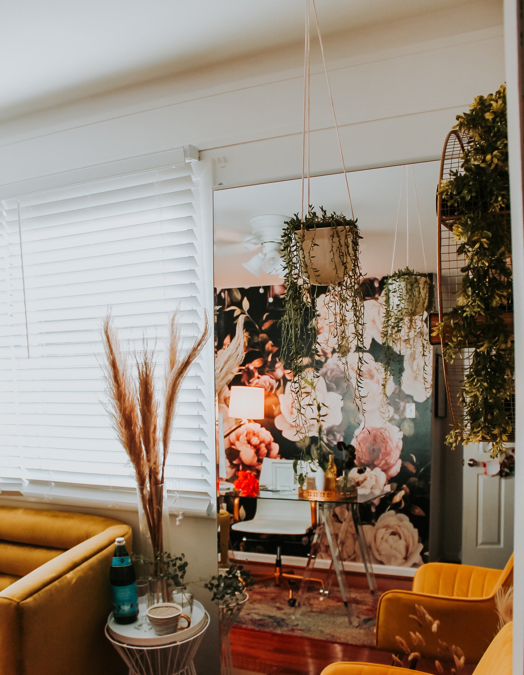 Always Creating Blog // Office Reveal With MuralsWallpaper [PHOTOS]