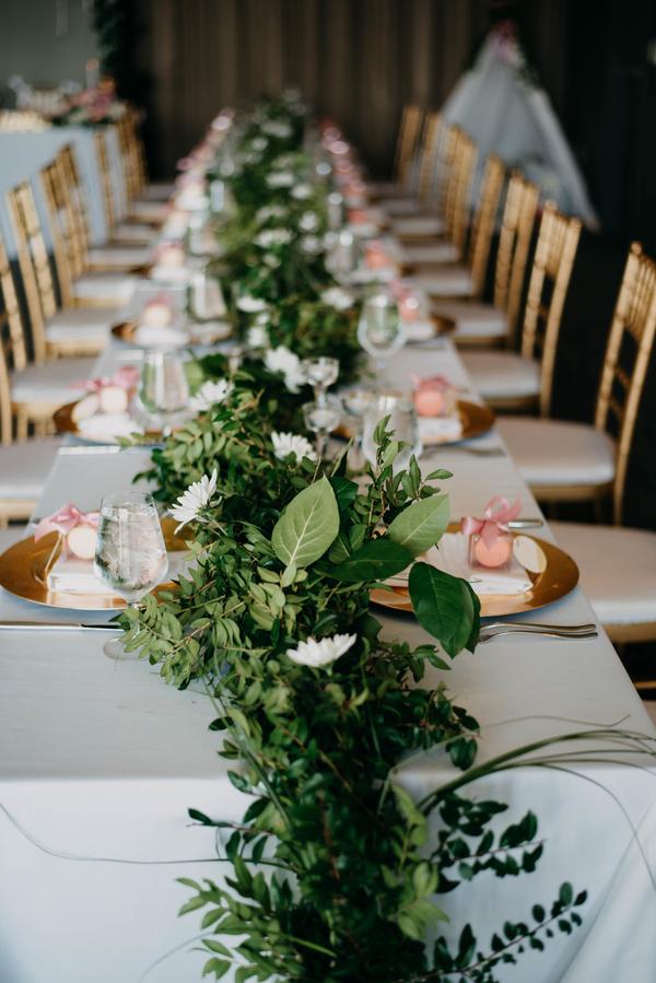 modern boho chic wedding
