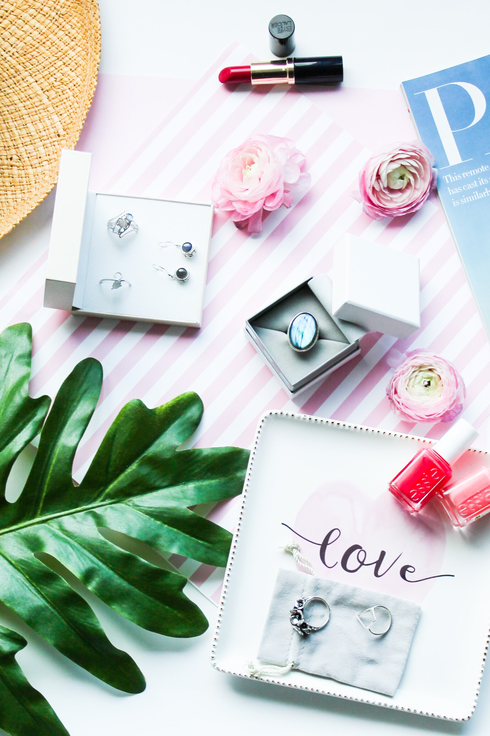 {Always Creating Blog // Five Tips For Taking Flatlay Photos}