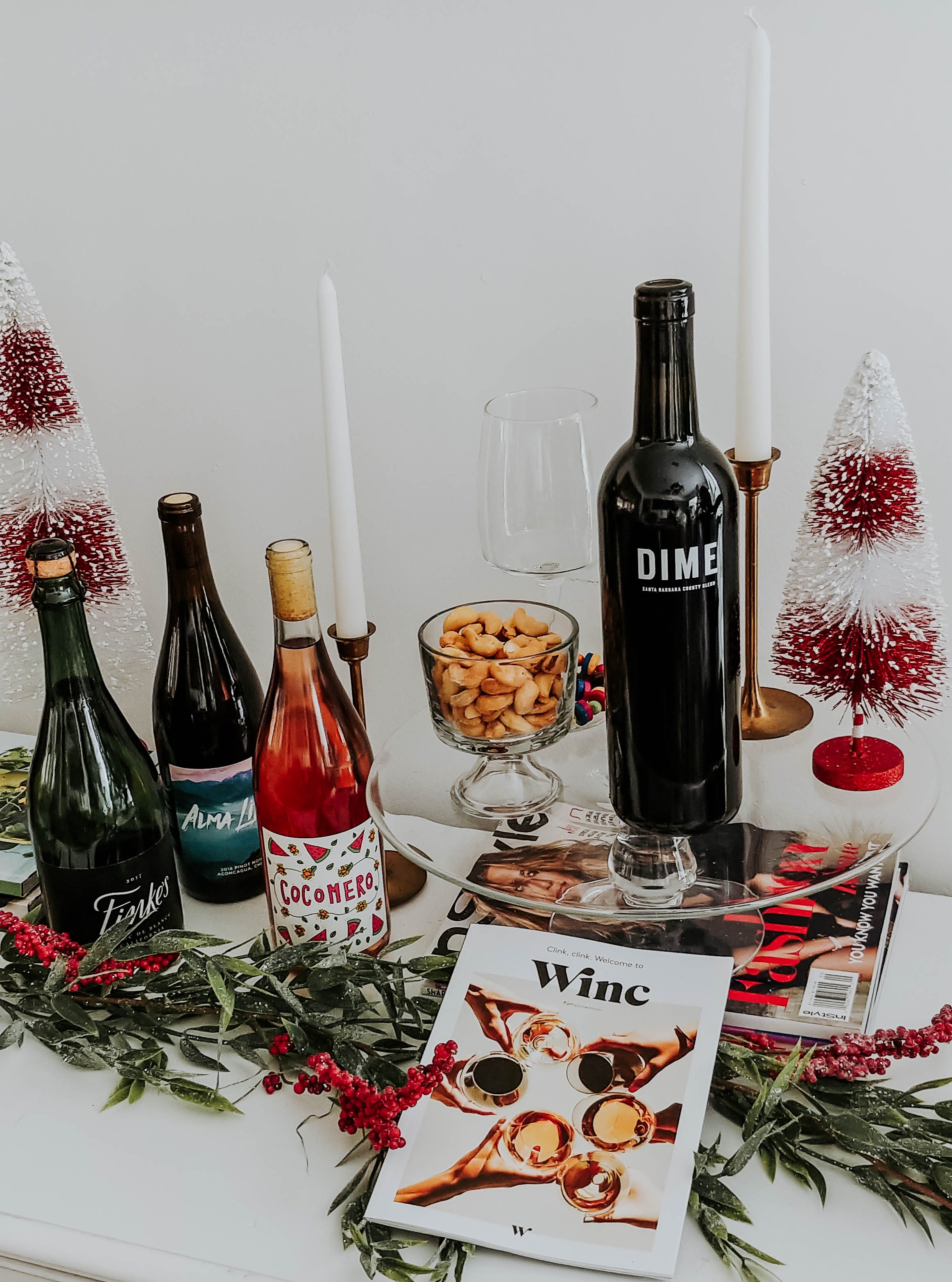 Image of different wines from winc.com.