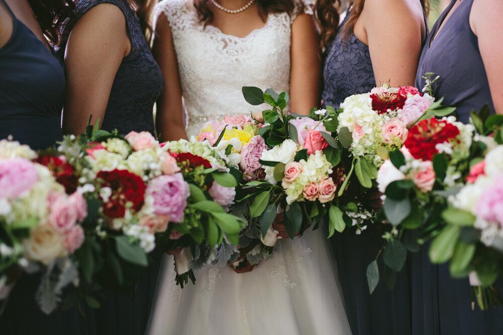 Florals: Always Creating Studio Weddings & Events | Photo: Mike Sperlak
