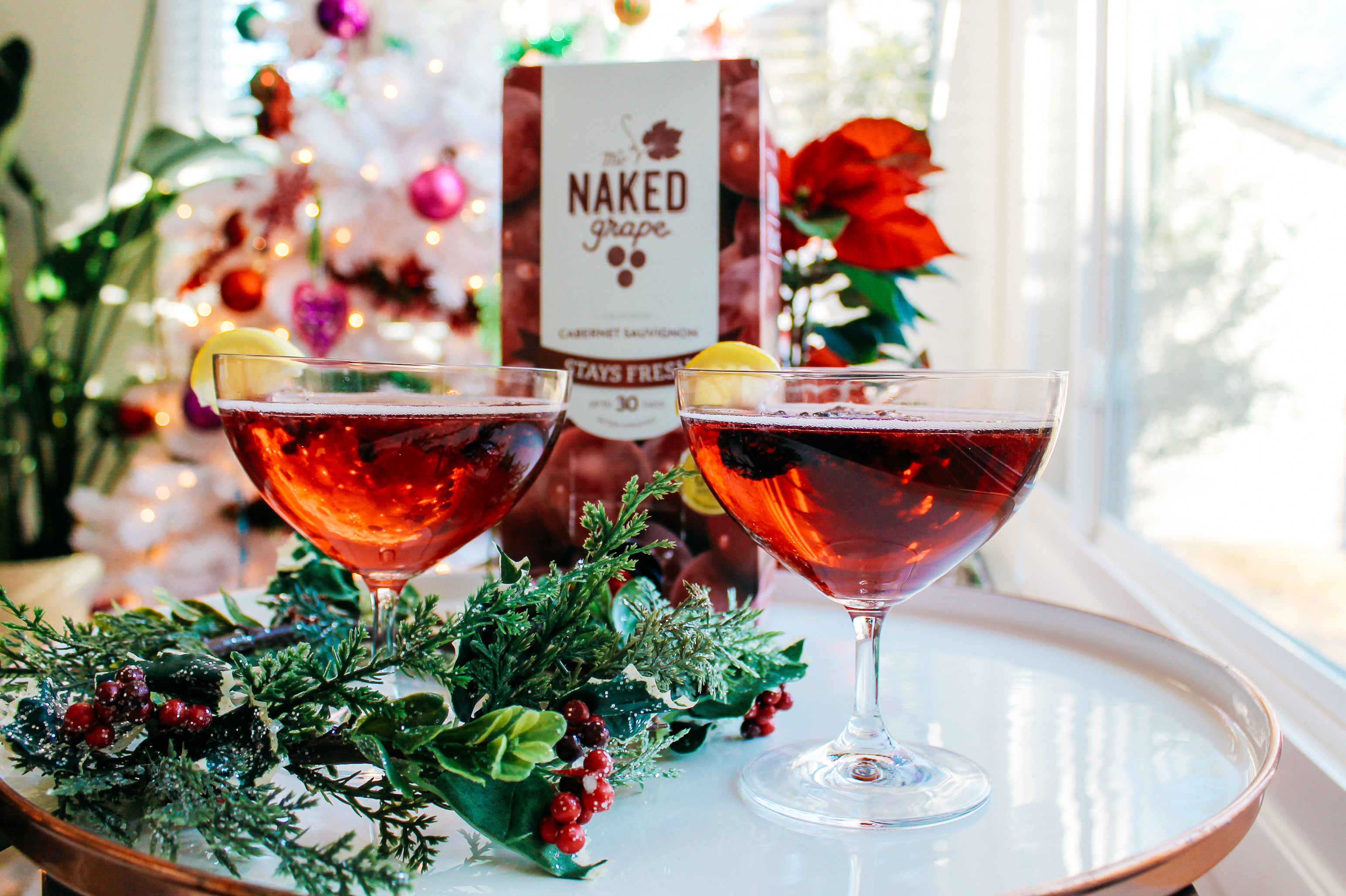 {The Naked Grape Wines x Always Creating Blog}
