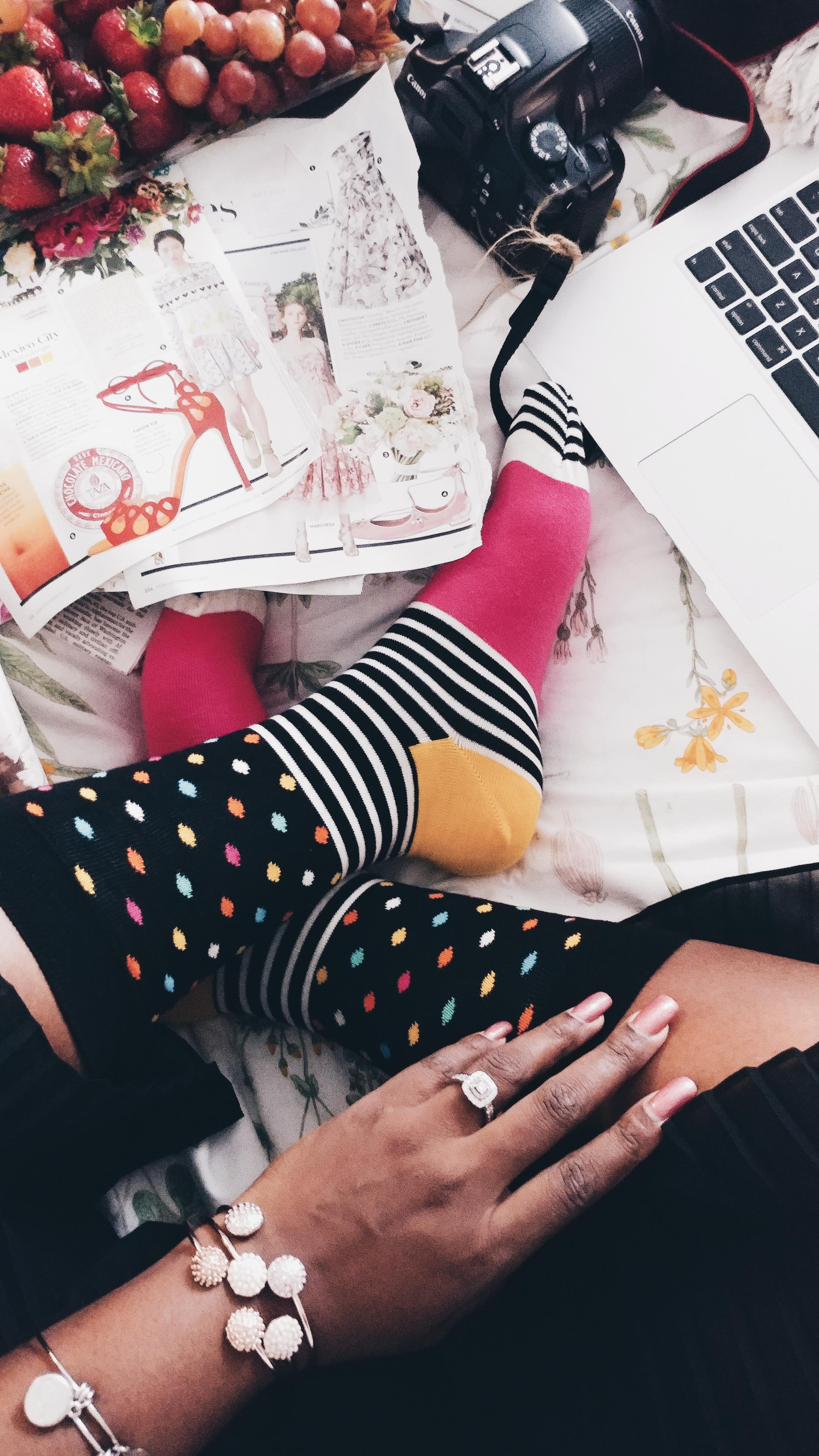 {Always Creating Blog // Happy Socks x Always Creating Blog}