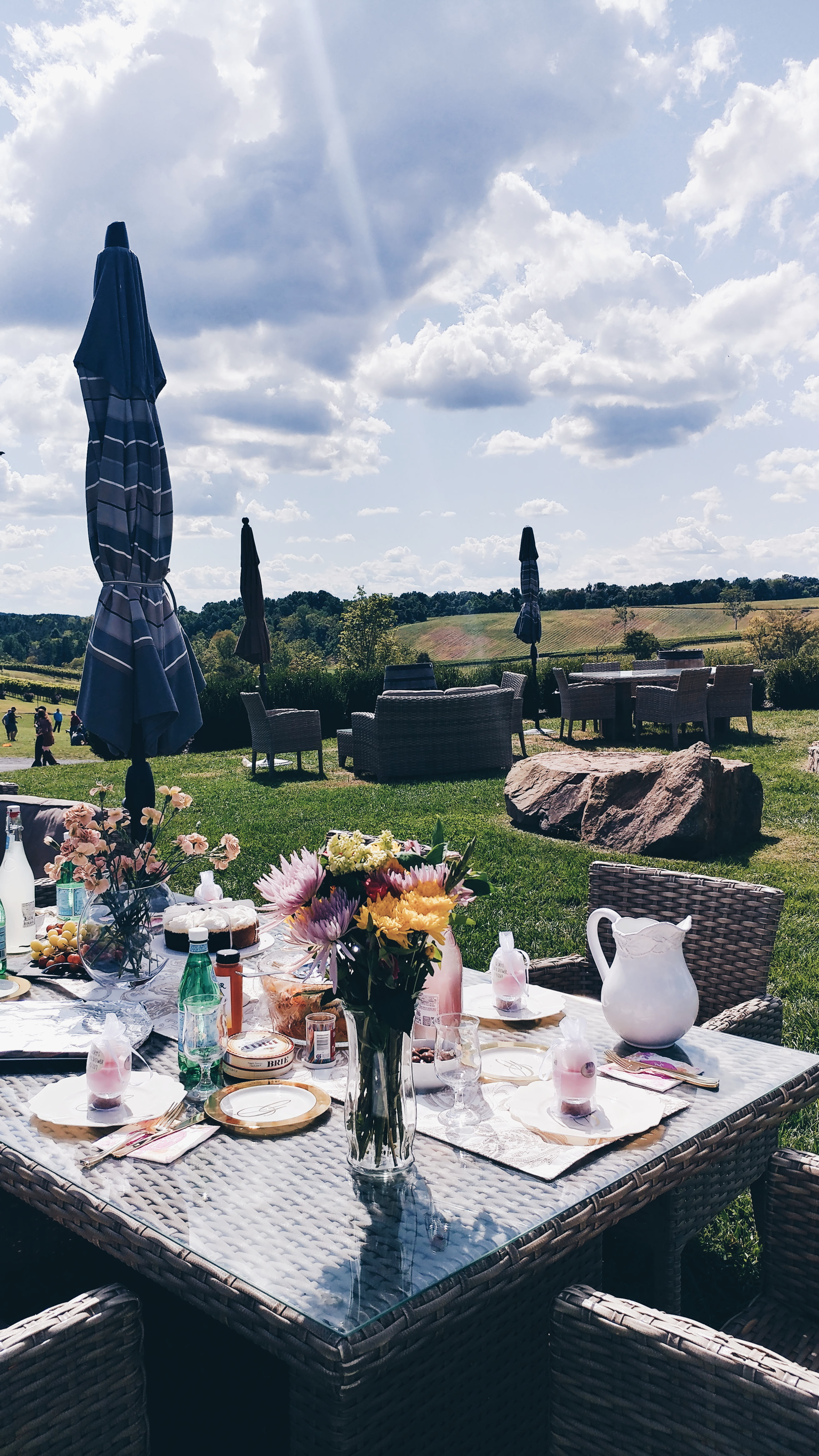 {Always Creating Blog // My Bridal Party at Stone Tower Winery}