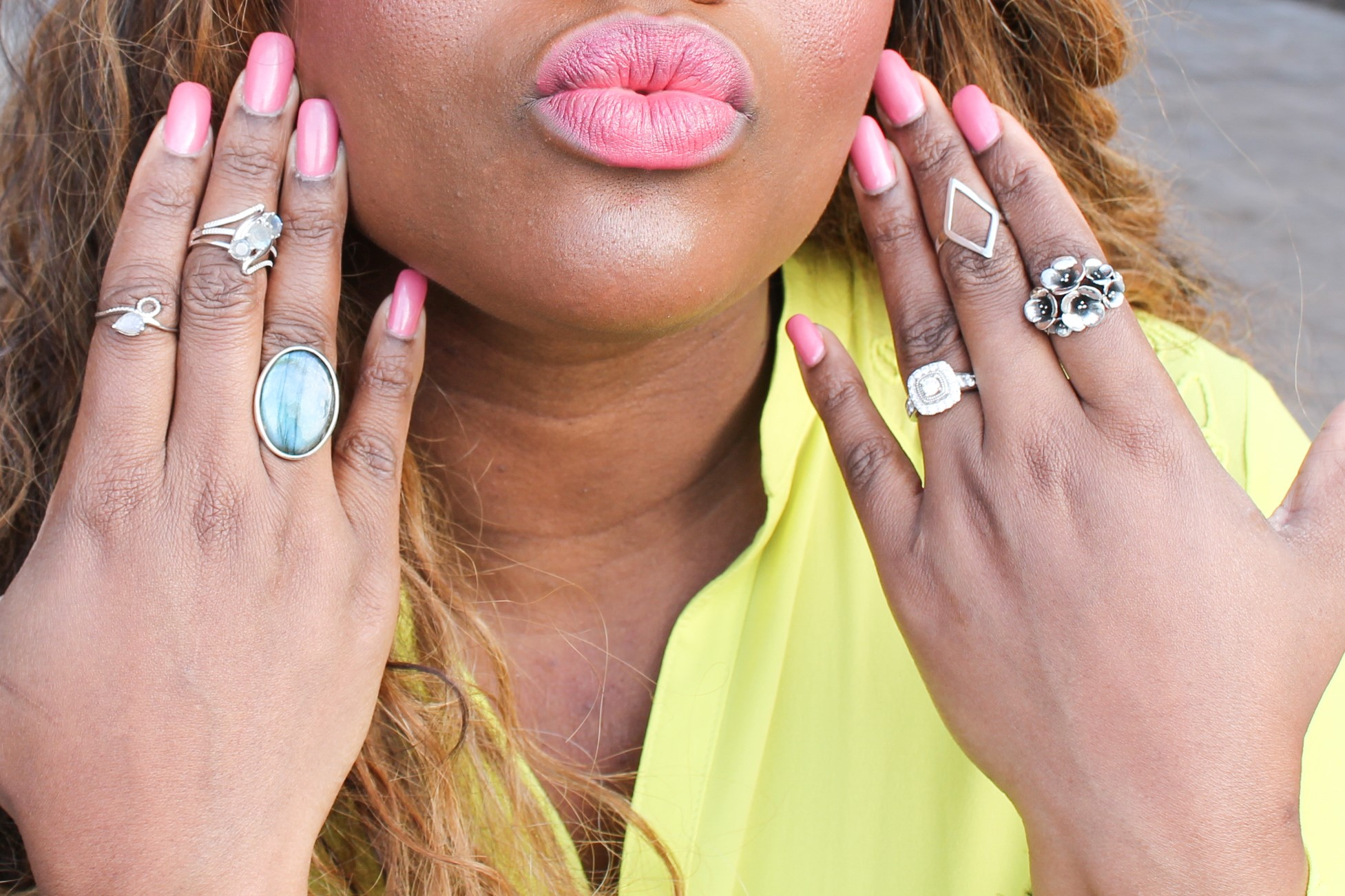 {Always Creating Blog // Spring Fashion Feature: feat. Labradorite Jewelry}