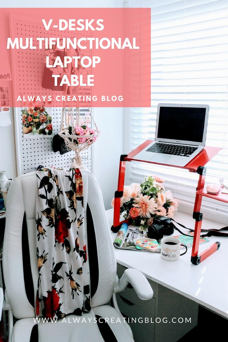 V-Desks Multi-functional Laptop Table X Always Creating Blog