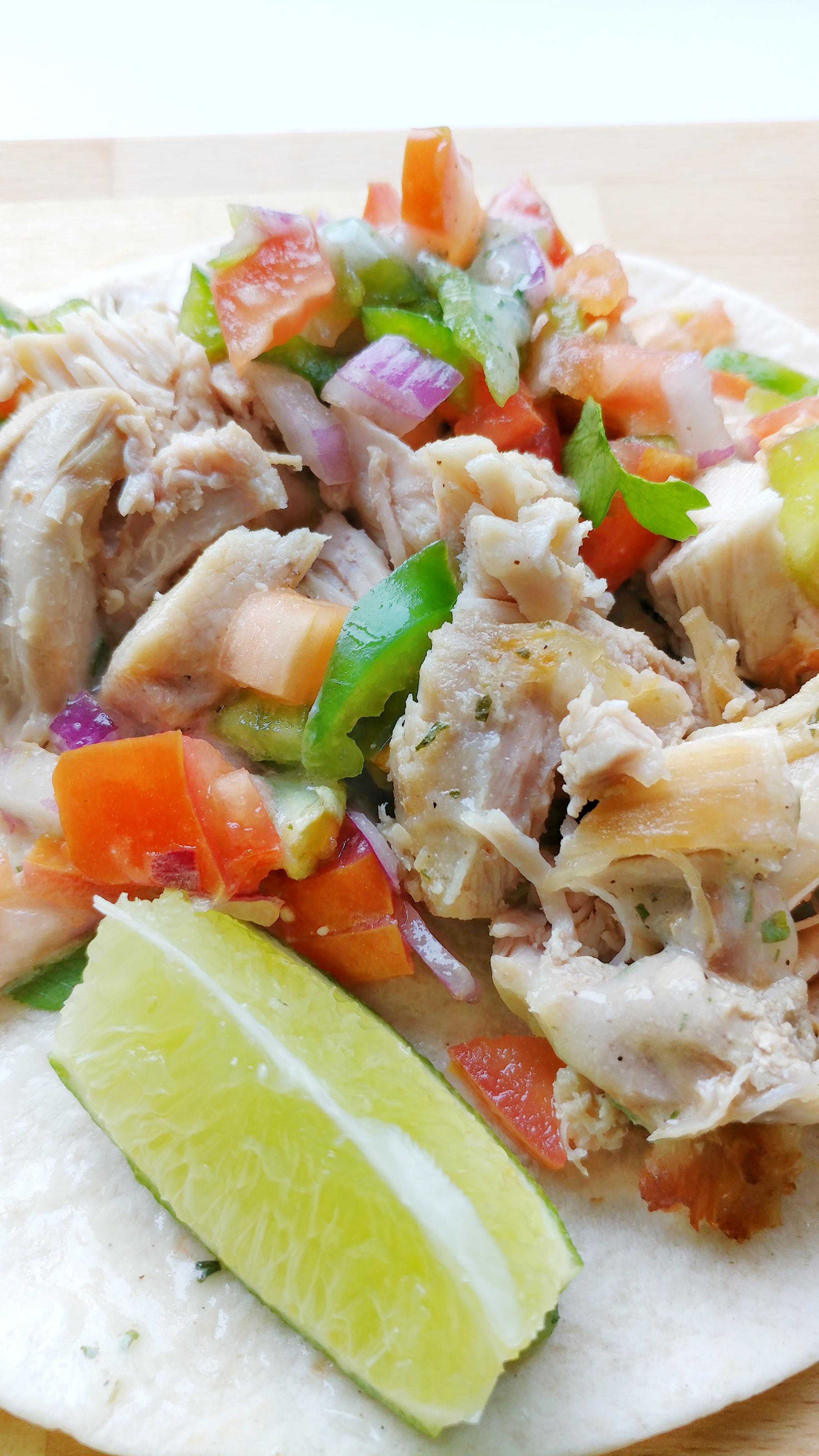 Super Easy Weeknight Chicken Tacos | Hidden Valley Ranch